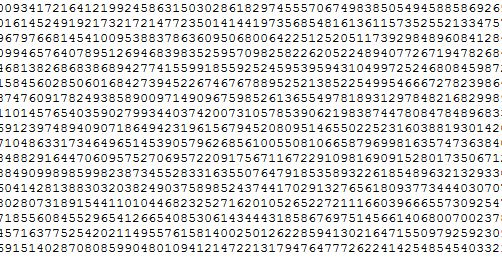 Pi digits download: Up to one trillion digits